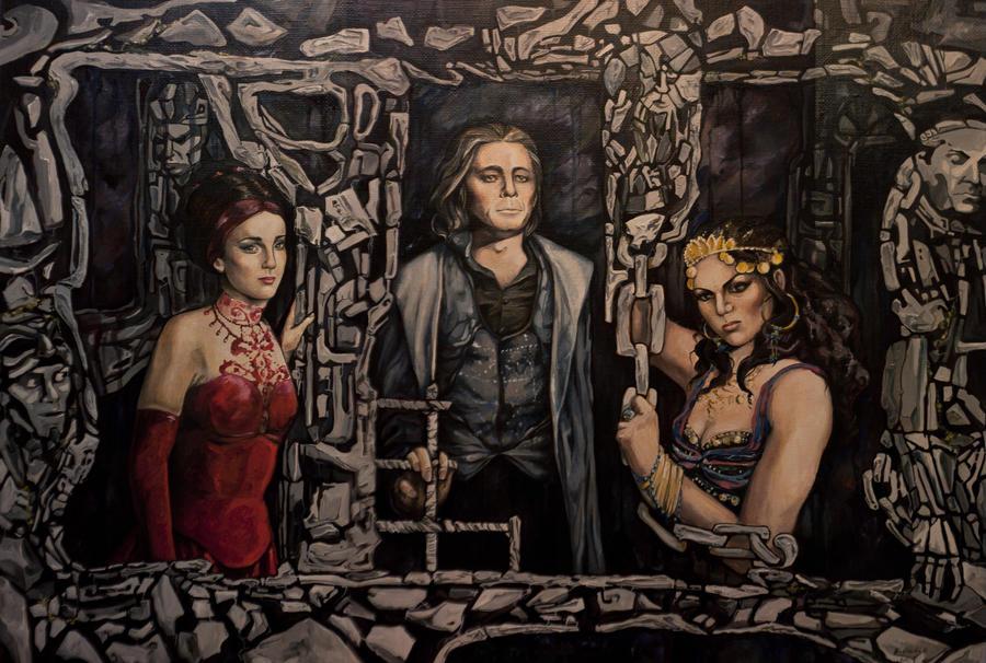 The Count of Monte Cristo by j-vidanova