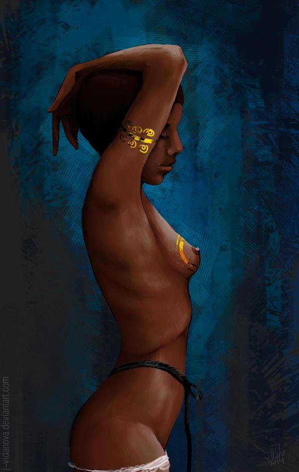 Dark beauty by j-vidanova