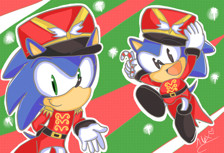 Sonic the Nutcracker by chibiirose