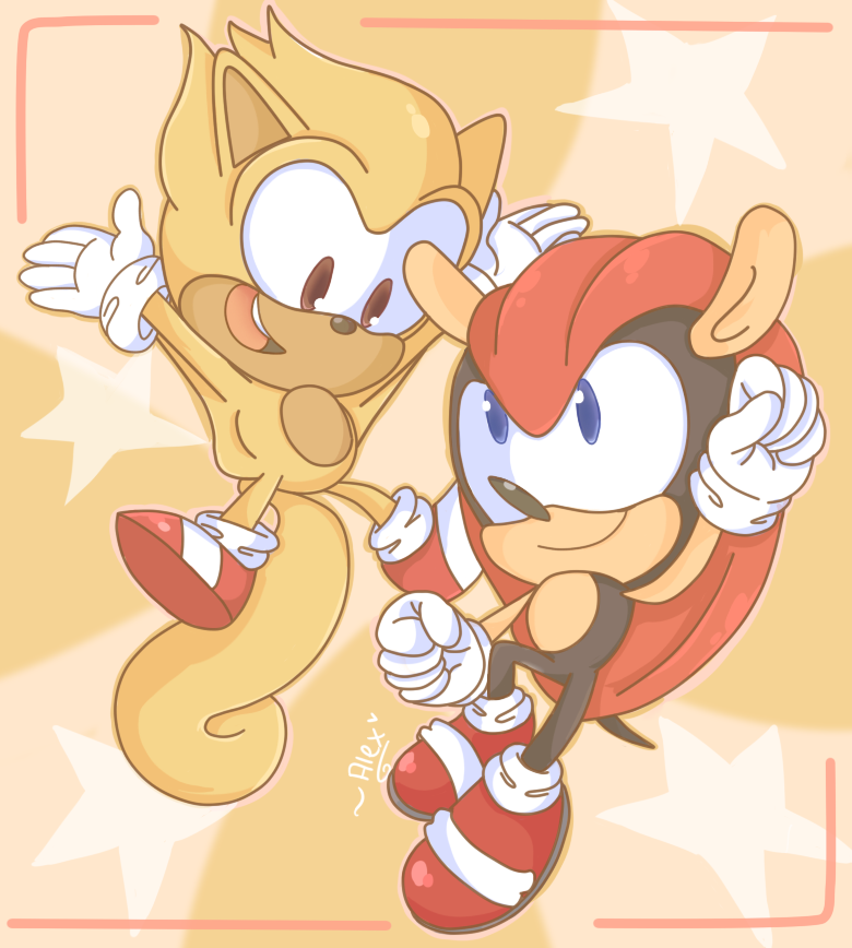 Mighty and Ray by chibiirose
