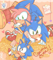SONIC-HOLIC by piink-rose