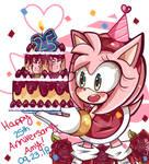 Happy 25th Anniversary Amy Rose!