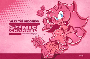 Alex Sonic Channel Style 2019 by chibiirose