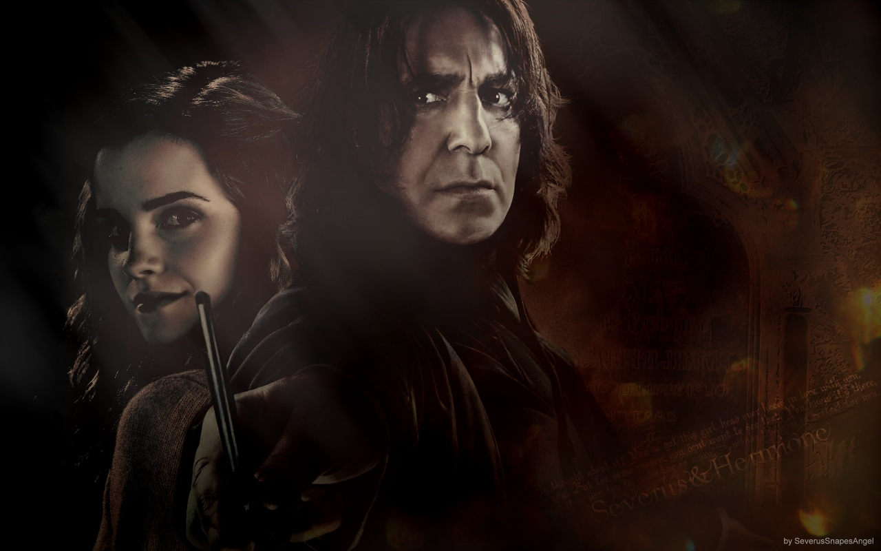 Hermine and snape porn