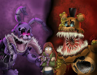 The Twisted Ones | Fan Art by AngosturaCartoonist