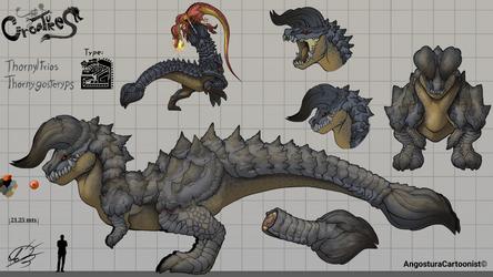 Monster concept   Thornyltrios