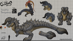 Creatures Species | Thornyltrios by AngosturaCartoonist