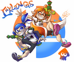 Inklings | Super Smash Bros Ultimate
