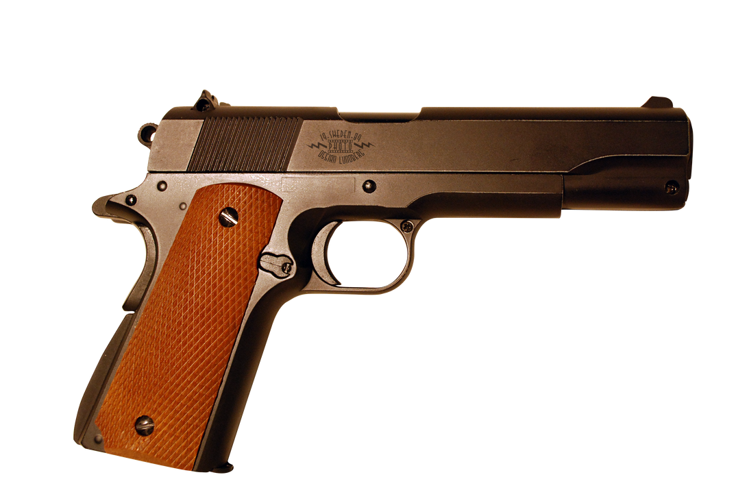 PNG Colt 1911 Government Stock Photo by Wulfmorgenthaler