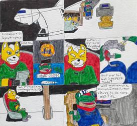 Star Fox Adventures Prologue pg 1 (updated)