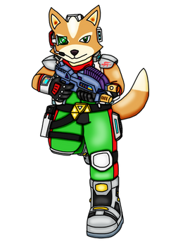 Preview: Fox McCloud Adventures