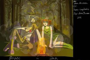Fares and Elya by Anna-Miumaru