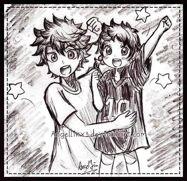 Shoyou and Natsu~ by AngelLinx3