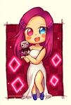 Commission | Meisha chibi by AngelLinx3