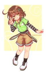 Commission |Hinata Morikubo by AngelLinx3