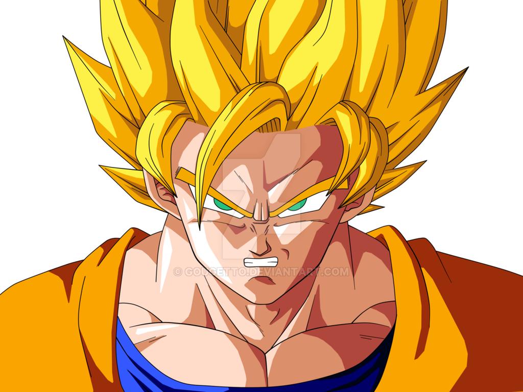 Goku Super Saiyan By Gougetto On DeviantArt