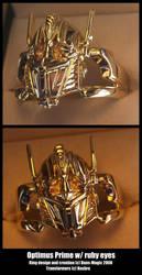 Optimus prime by EagleWingGallery
