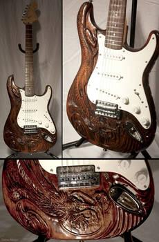 Eastern dragon guitar