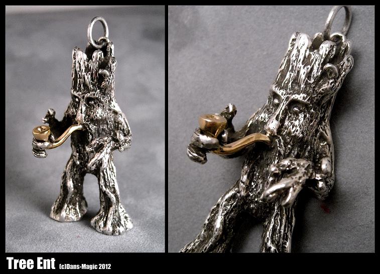 Tree Ent pendant by Dans-Magic
