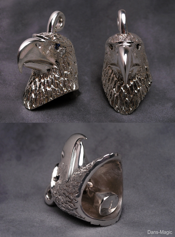 Eagle Head Bell by Dans-Magic