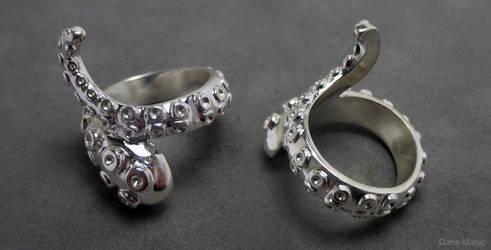 Tentacle Ring by EagleWingGallery