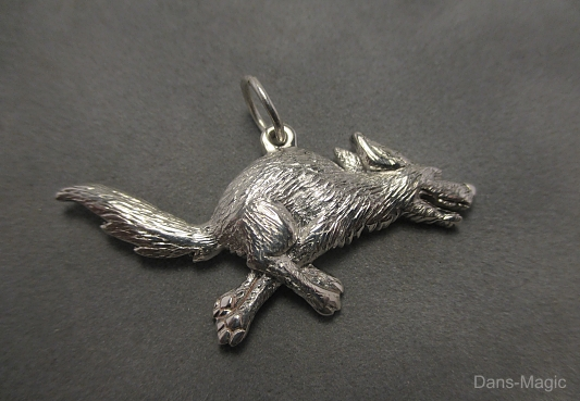 Running dog pendant by Dans-Magic