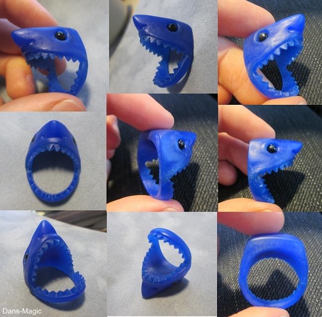 Shark ring wax by Dans-Magic