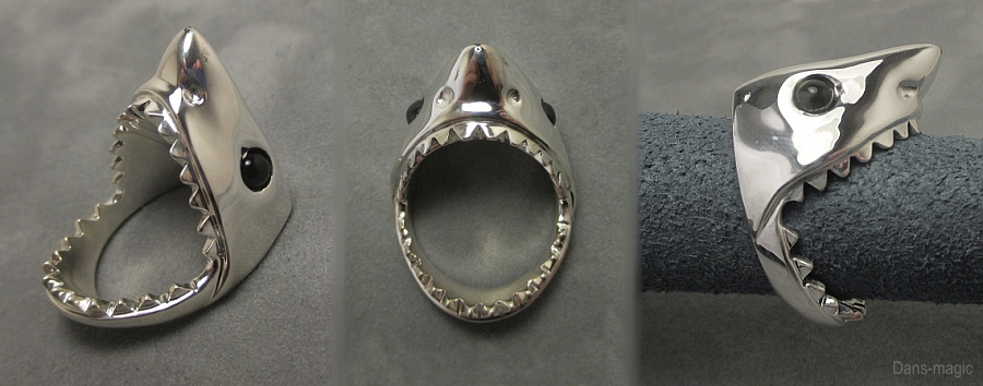 Shark ring by Dans-Magic