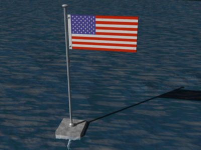 God Bless America - 3d flag by razor-net