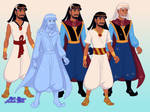 Frozen Egypt - Moses as Anna by MagicMovieNerd
