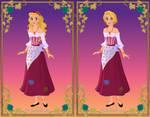 Bobbie-Jo as a Gypsy