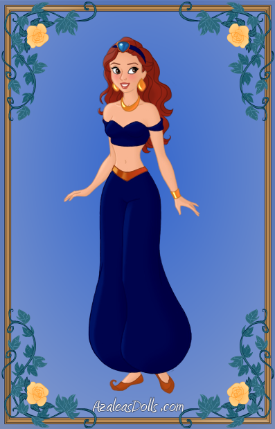 Jeanette As Jasmine Hair Down By Magicmovienerd On Deviantart