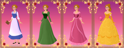 Cecile in Belle's Outfits by AmericaMarten