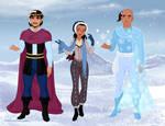 Frozen Egypt Cast (Redone) by MagicMovieNerd