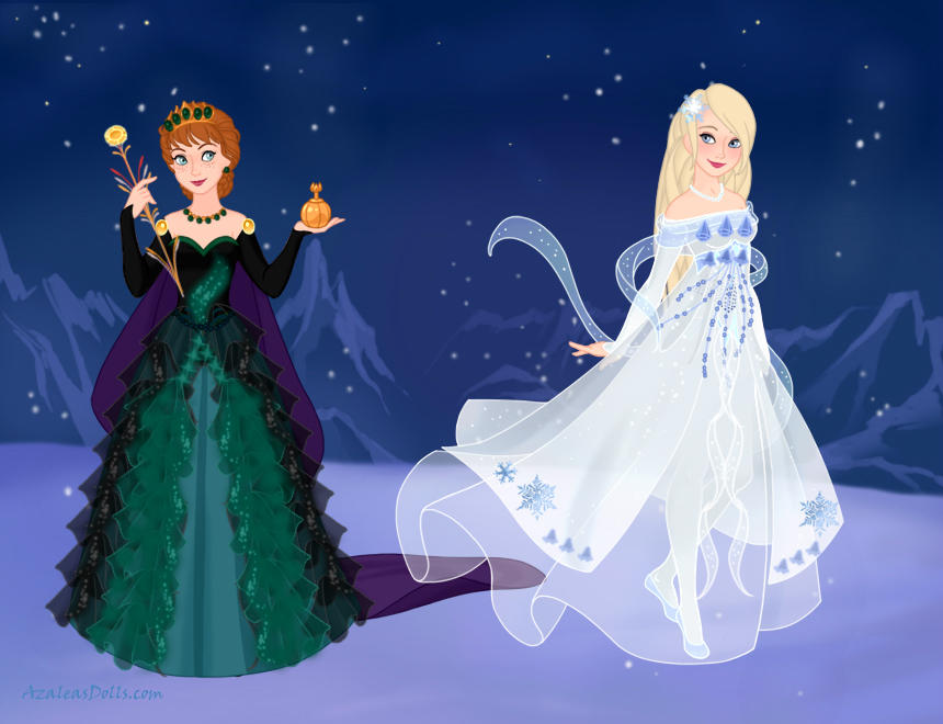 Fancy Princess Series - Anna and Elsa