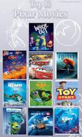 My Top 10 Pixar Movies