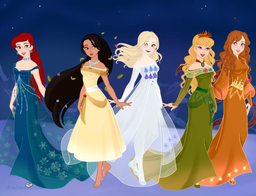 Disney Princess Elements (AT)