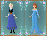 Prize - Elsa and Anna Swap Outfits