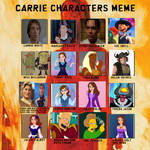 My Ultimate Carrie Recasting