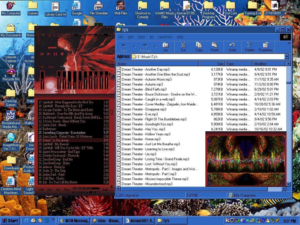 mp3 Desktop by darkryuujin