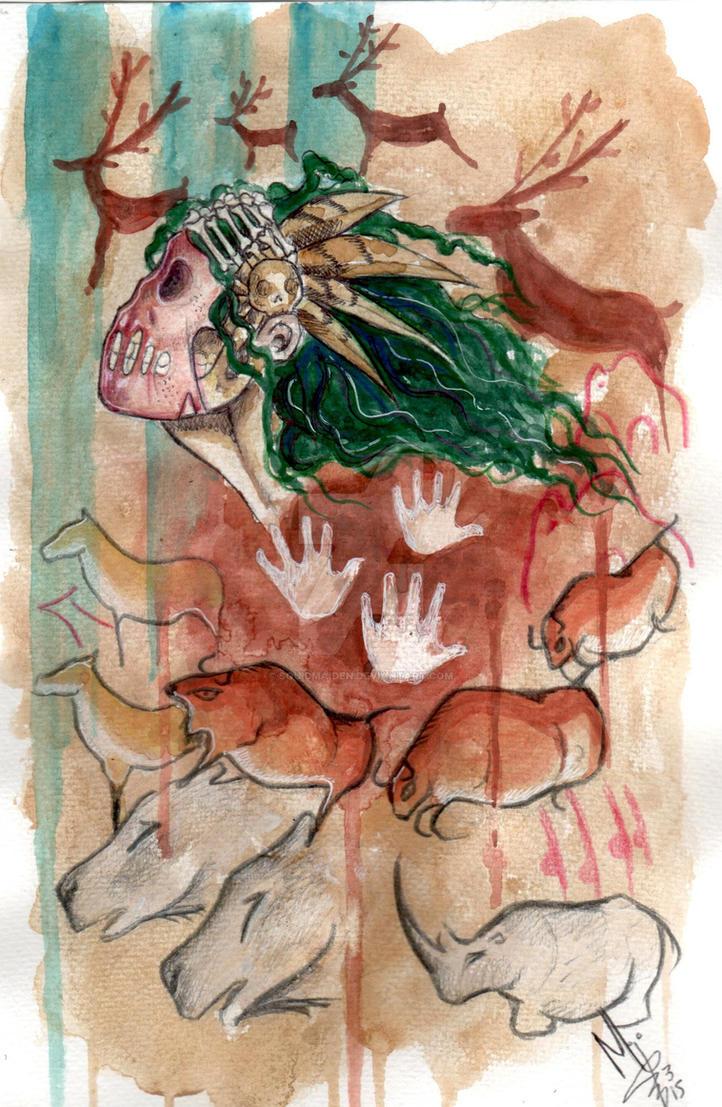 The artist by squidmaiden