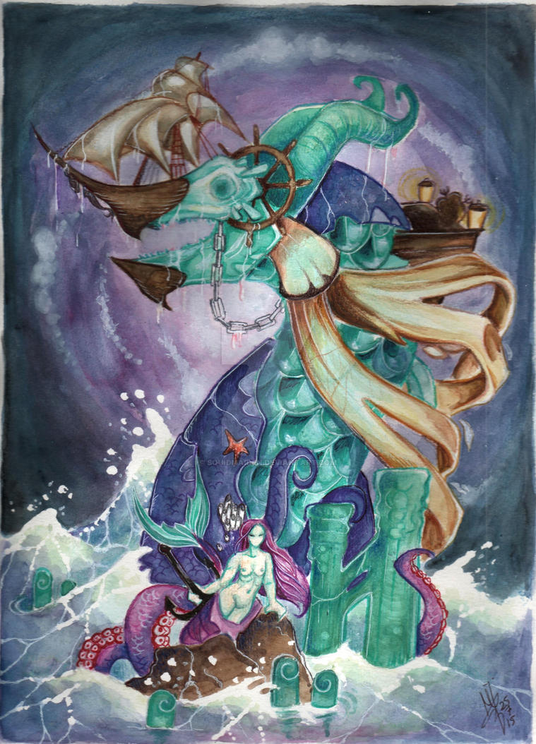 Leviathan by squidmaiden