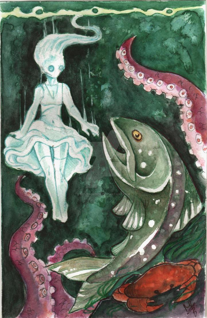 Still waters run deep by squidmaiden