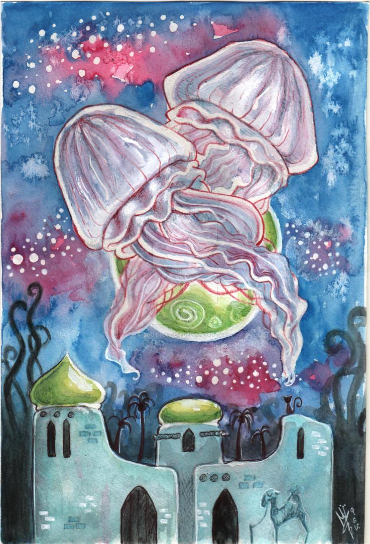 Medusalem by squidmaiden