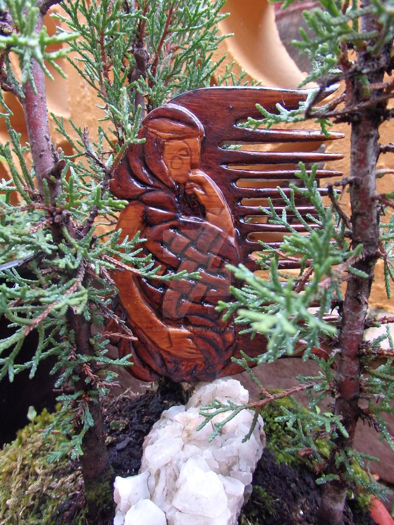 Wooden Basilisa by squidmaiden