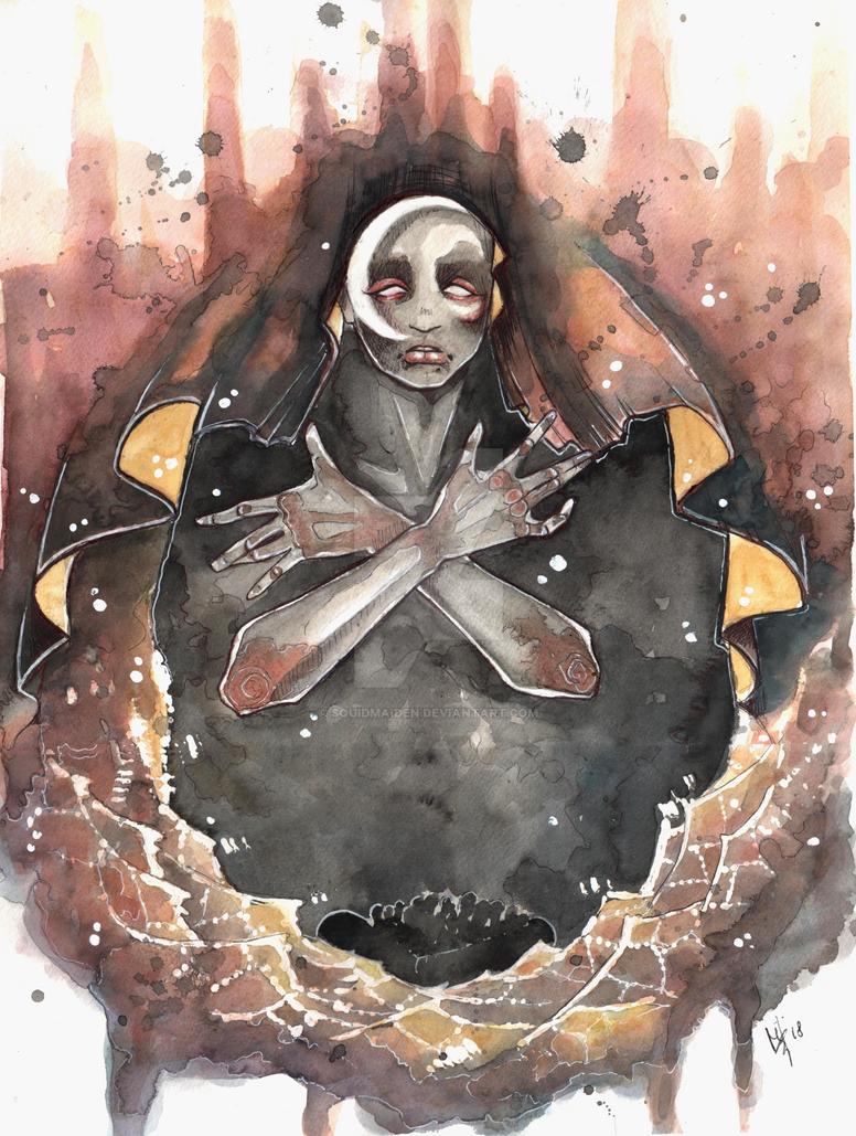 Noches de luna y pateras by squidmaiden