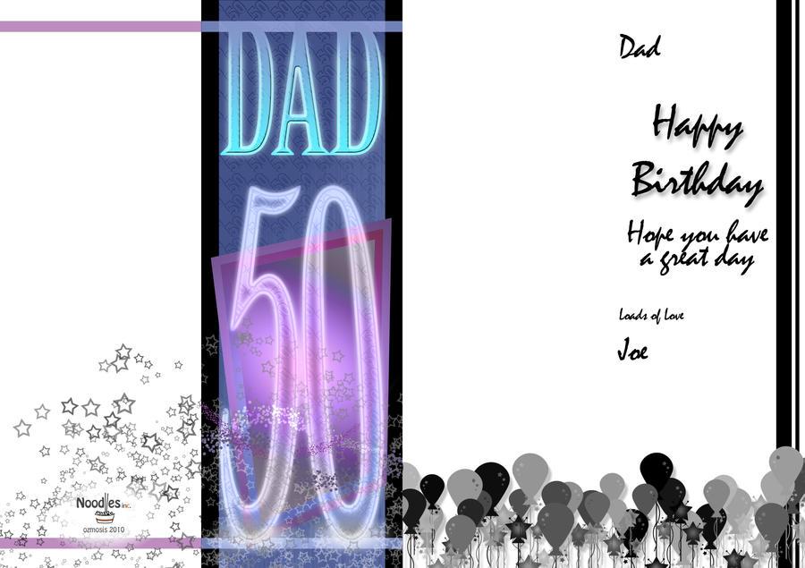 Joe's Dad's Card by theOZmosis