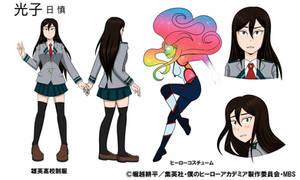 Boku No Hero Academia OC - Mitsuko Ri-Shen by LeesiGalaxy