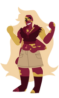 Mookaite Jasper - Save the Light Commission! by LeesiGalaxy