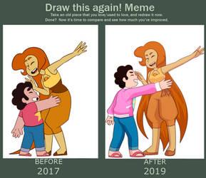Draw This Again Meme: Dance Dance!